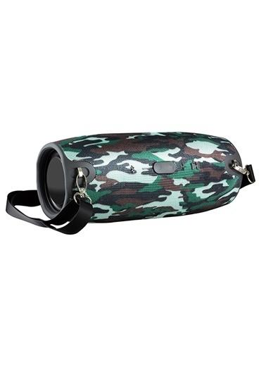 Platoon PL-4148 Bluetooth Speaker Fm/Sd/Usb Renkli
